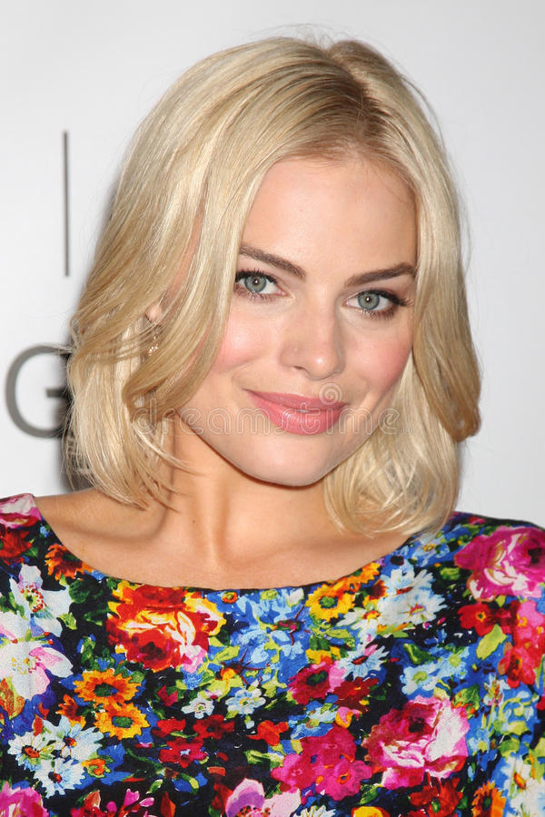 Margot Robbie. LOS ANGELES - AUG 7: Margot Robbie at the Disney/ABC Television Group Summer Press Tour at the Beverly Hilton Hotel on August 7, 2011 in Beverly stock photo
