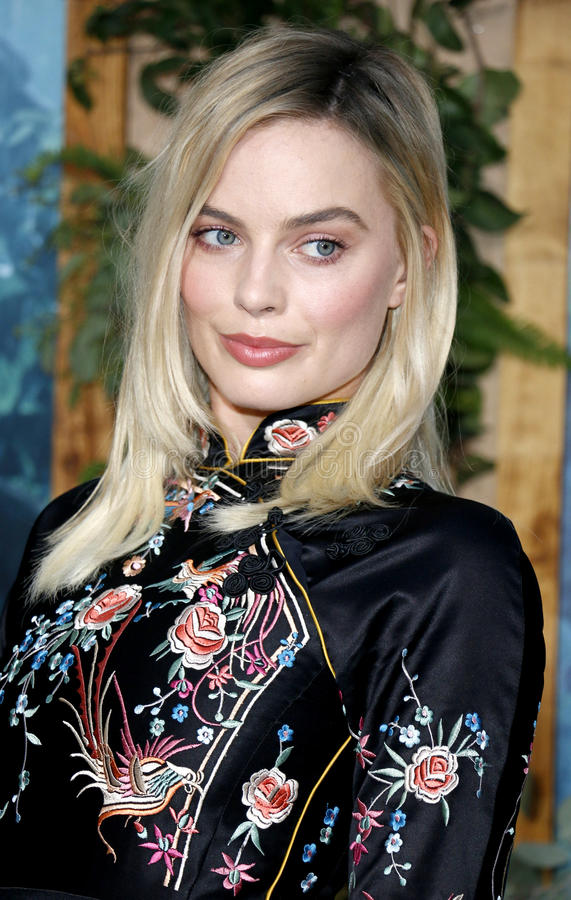 Margot Robbie. At the Los Angeles premiere of 'The Legend Of Tarzan' held at the Dolby Theatre in Hollywood, USA on June 27, 2016 stock photos