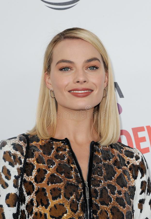Margot Robbie. At the 2018 Film Independent Spirit Awards held at Santa Monica Beach, USA on March 3, 2018 royalty free stock photo