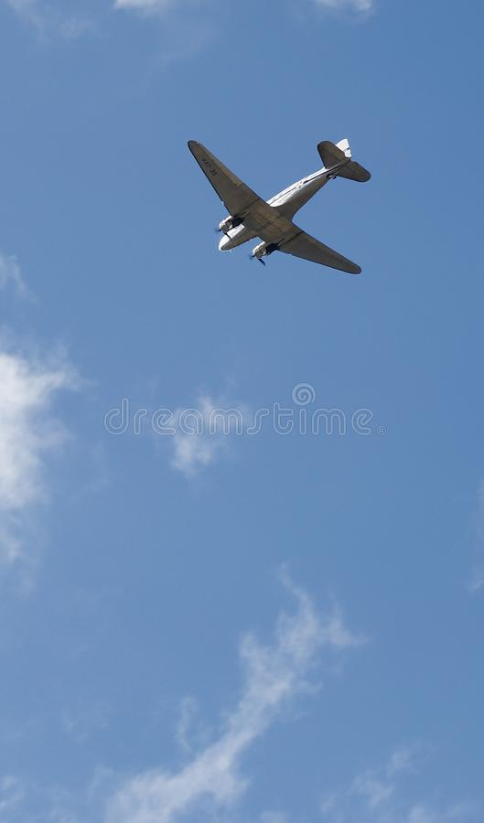 Marguerite SE-CFP de Douglas DC-3C images stock