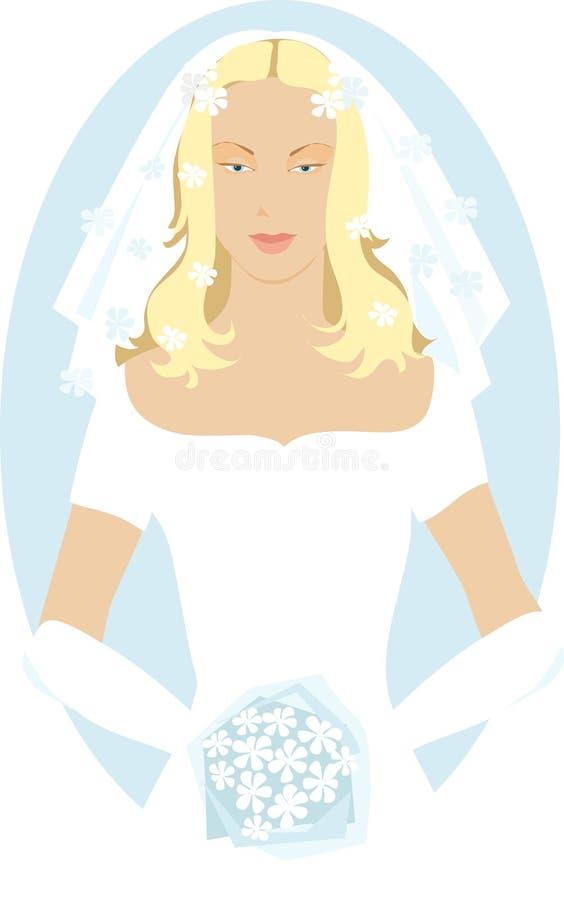 Mariée illustration libre de droits