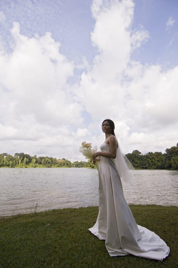 Mariée asiatique 16 images libres de droits