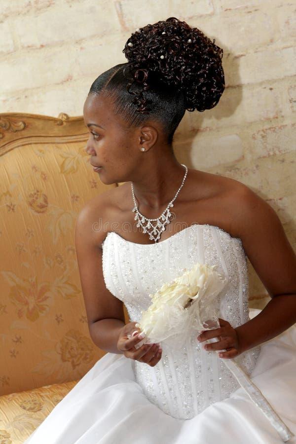 Mariée de Bouq image libre de droits