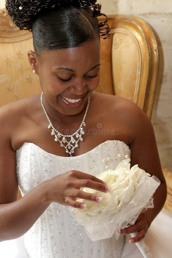 Mariée de Bouq photo libre de droits