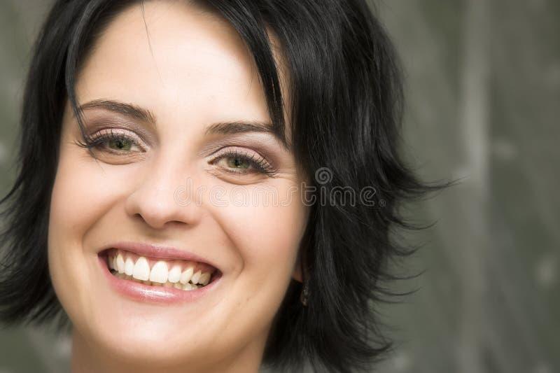 Mariée de Brunette image libre de droits