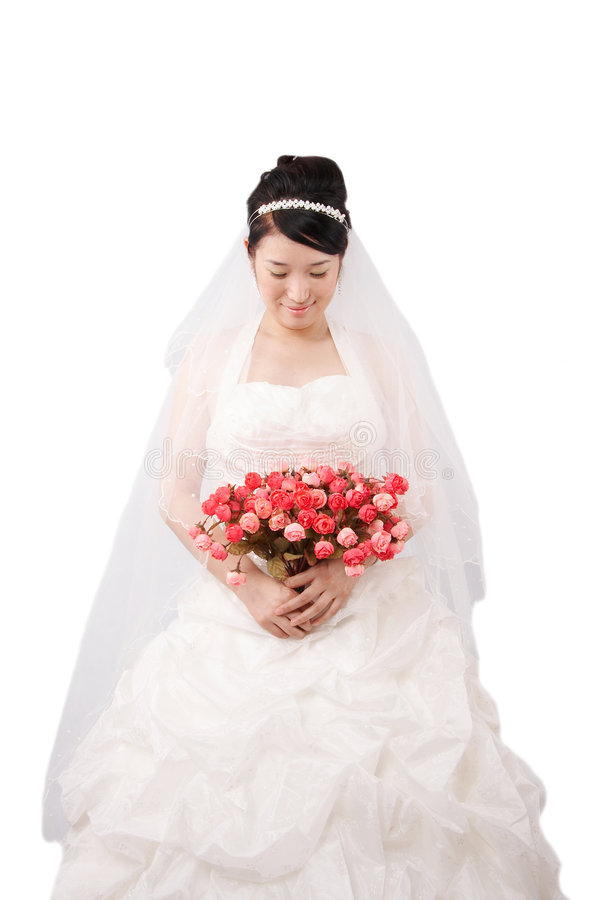 Mariée de mariage images libres de droits