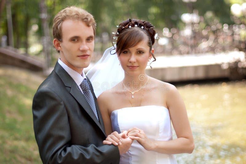 Mariée et marié images libres de droits
