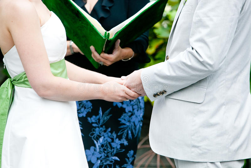 Mariée et marié photographie stock