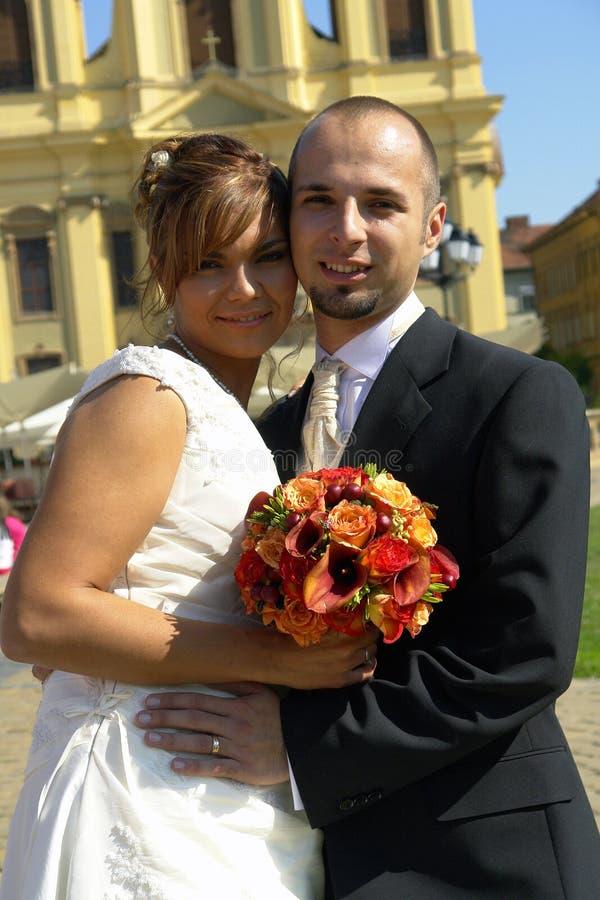 Mariée et marié images stock