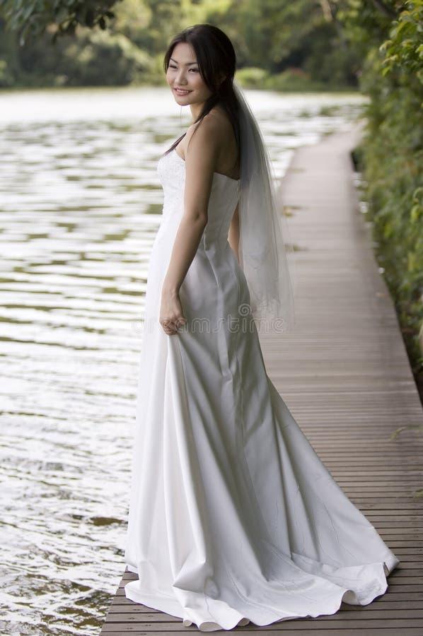 Mariée extérieure 5 photo libre de droits