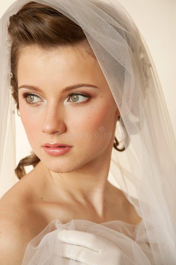 Mariée fascinante photographie stock