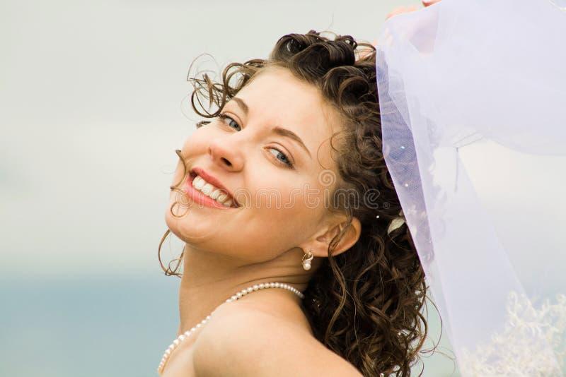 Mariée heureuse photos stock