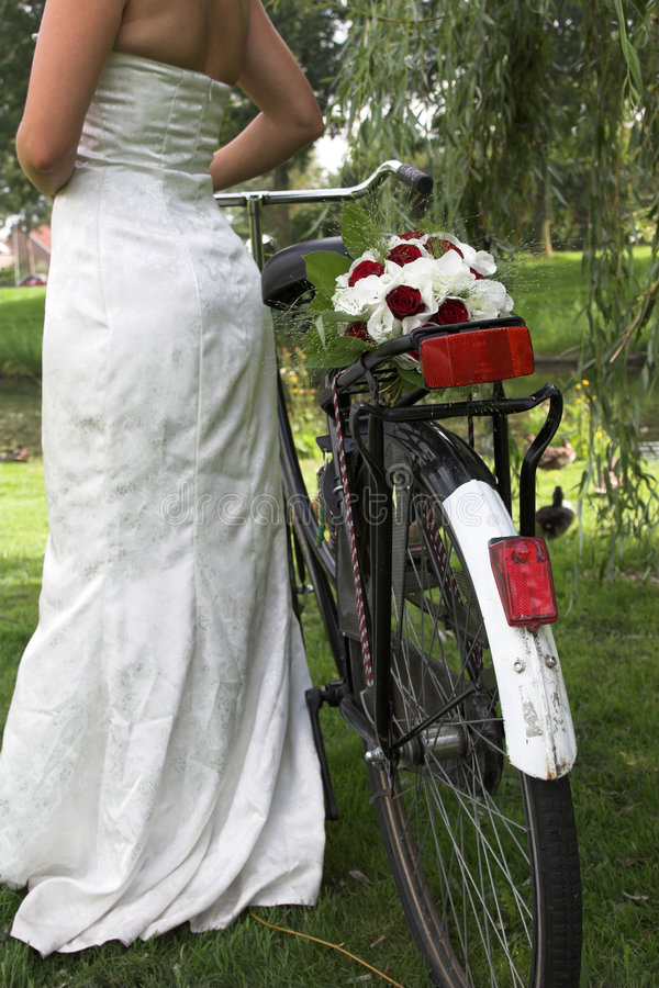 Mariée hollandaise images stock