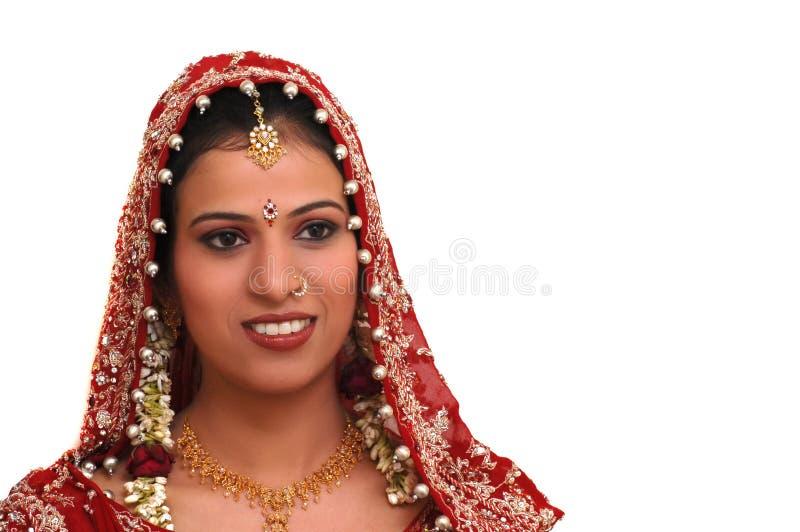 Mariée indienne images libres de droits