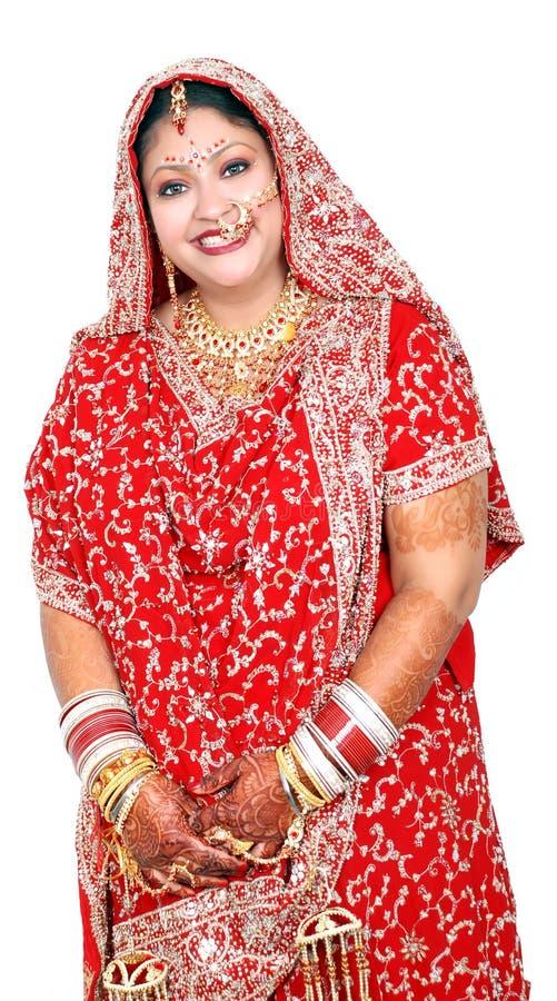 Mariée indienne image libre de droits