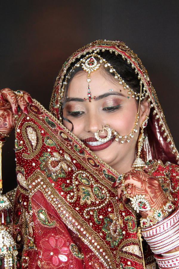 Mariée indienne photos stock