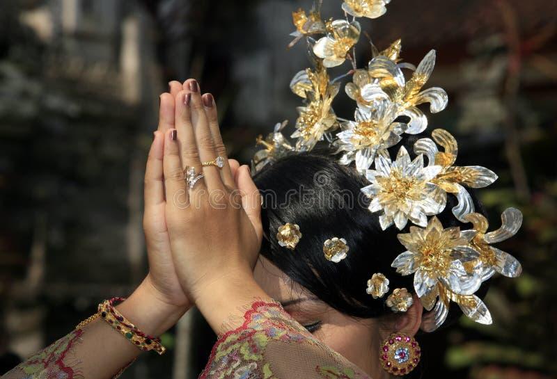 Mariée indonésienne images libres de droits
