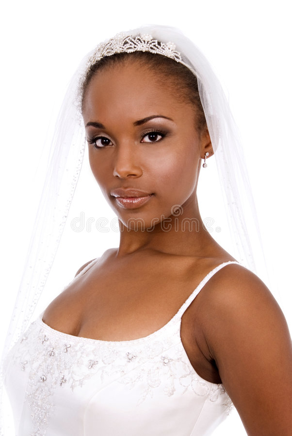 Mariée renversante image libre de droits