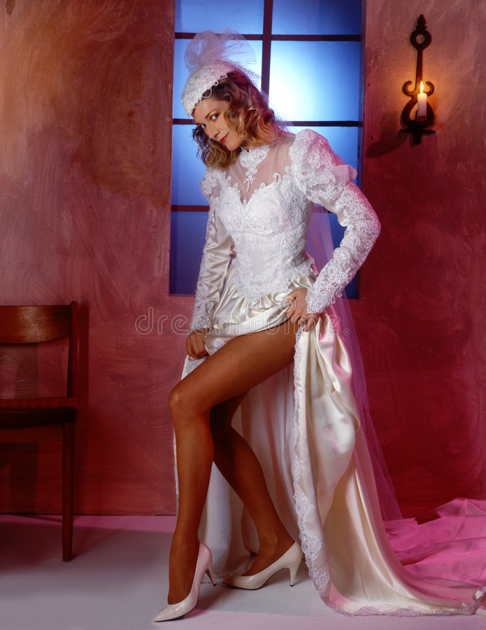 Download Mariée sexy image stock. Image du chaussures, tentation - 61225