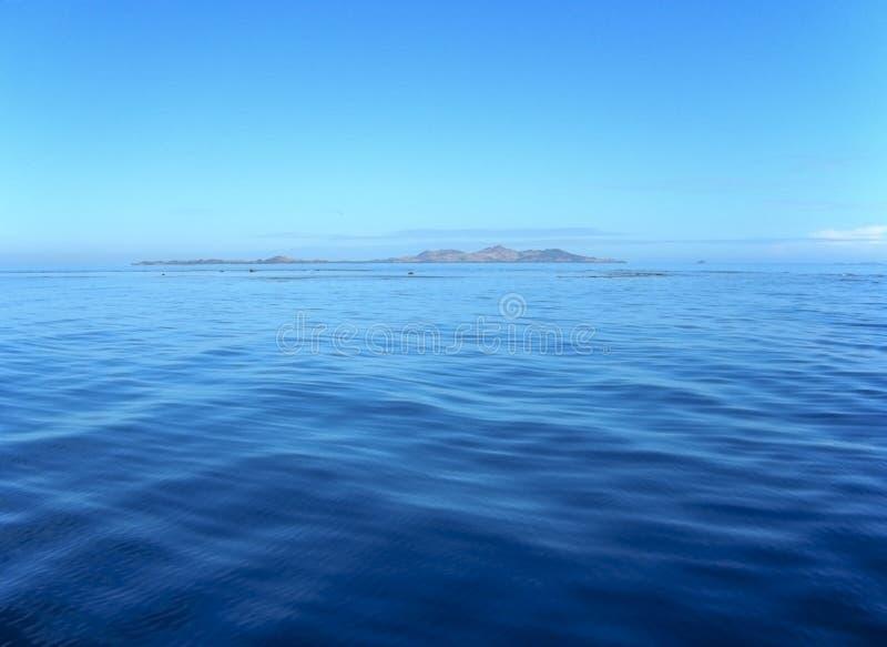 Mari calmi del Fiji fotografia stock