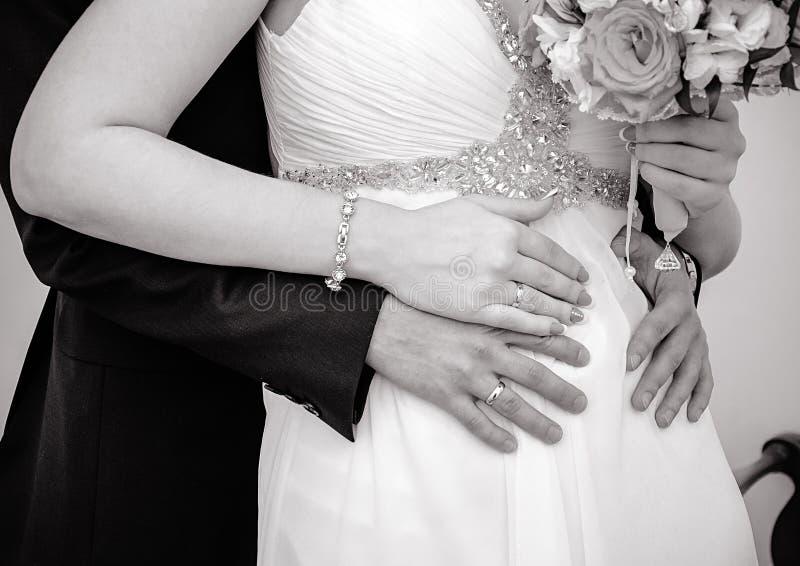 Mari et épouse image libre de droits