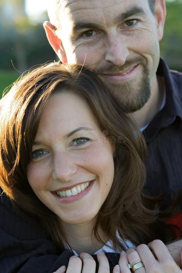 Mari et épouse images libres de droits