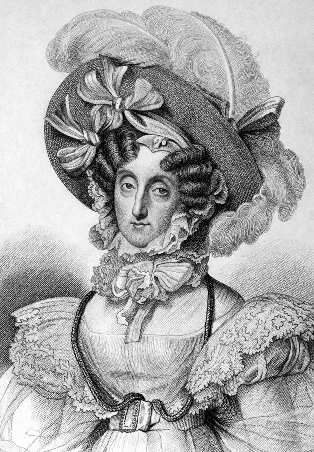 Maria Amalia de Naples et de la Sicile photo stock
