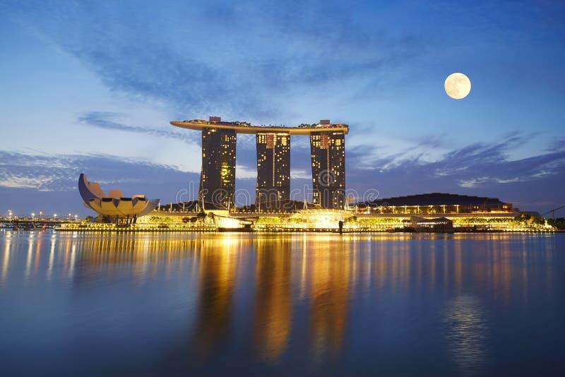 Maria Bay Sands, Singapour image libre de droits