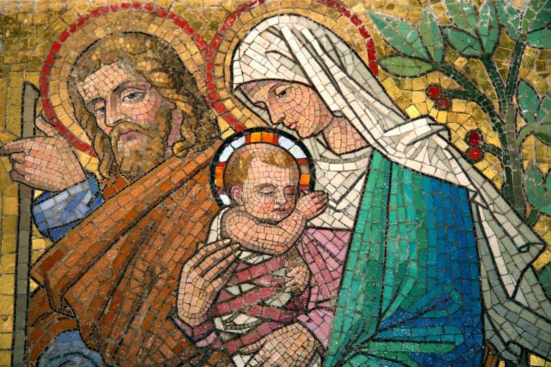 Maria com criança fotos de stock royalty free