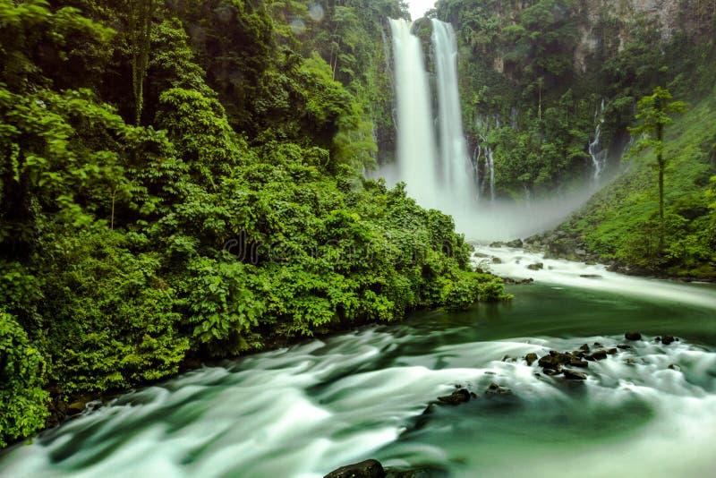 Maria cristina falls in Iligan City, Philippines. Maria Cristina falls in Iligan City royalty free stock photos