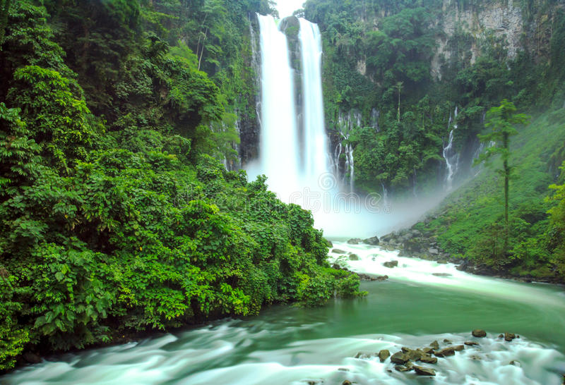 Maria cristina falls in Iligan City, Philippines. Maria Cristina falls in Iligan City stock photo