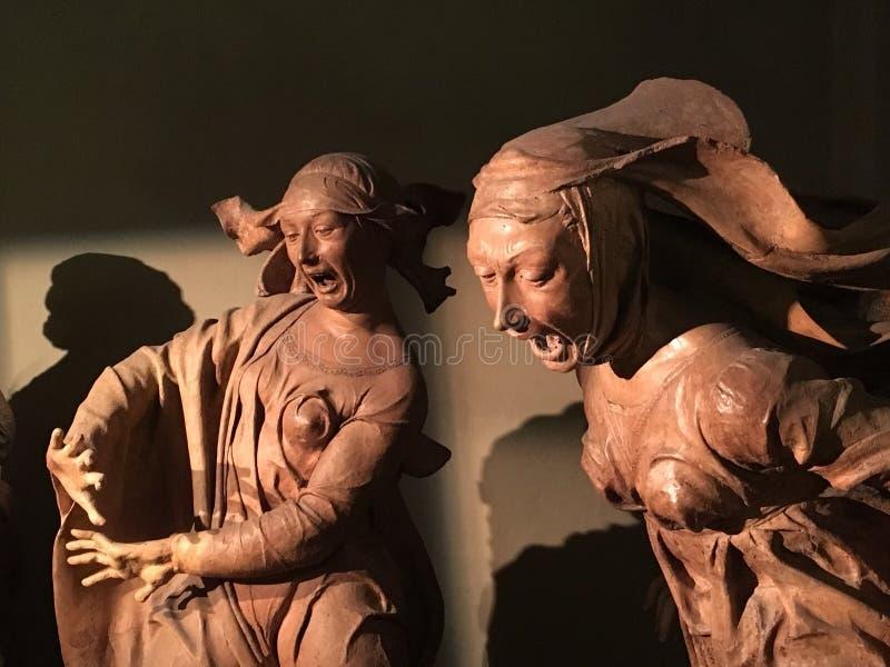Maria e Mary Magdalene fotografia stock libera da diritti