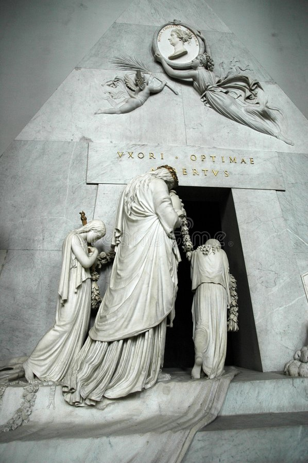 maria för 01 ärkehertiginna tomb arkivfoto