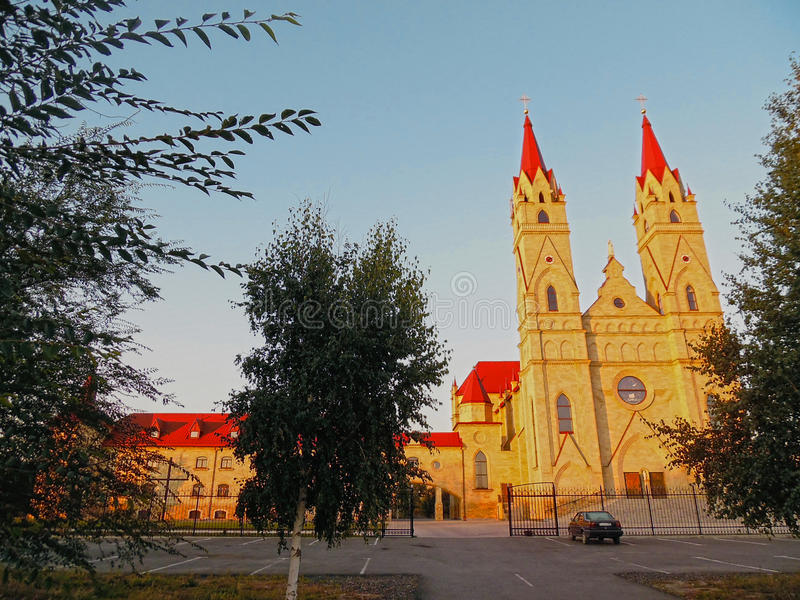 Maria Fatimskaya Chapel royalty-vrije stock foto's