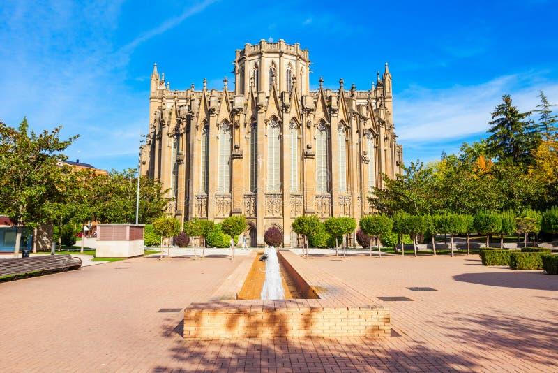Maria Inmaculada de Vitoria Cathedral fotos de stock