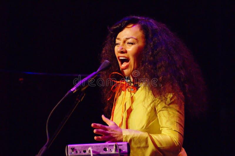 Maria Joao Ogre, JazzLent royalty free stock photos