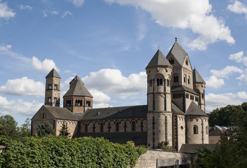 Maria Laach Abbey lizenzfreie stockbilder