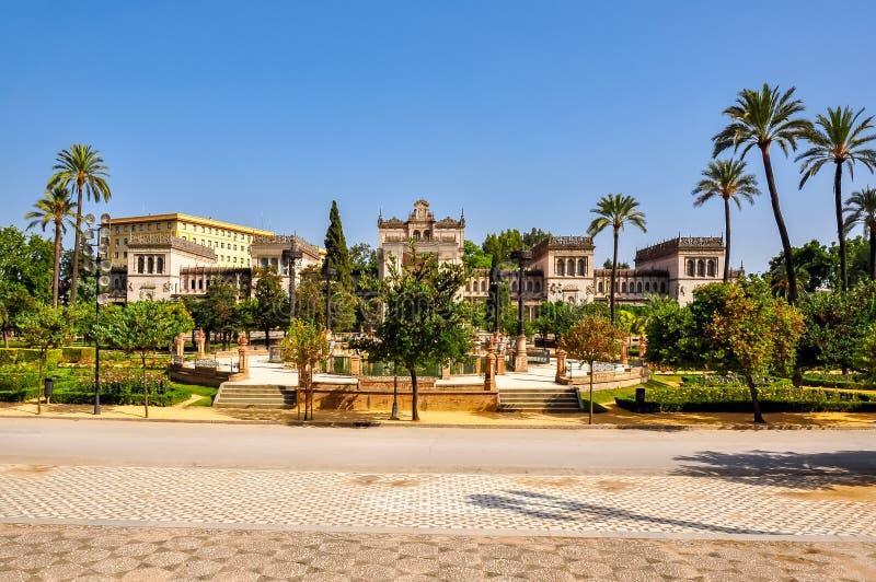Maria Luisa Park, Siviglia, Spagna immagini stock