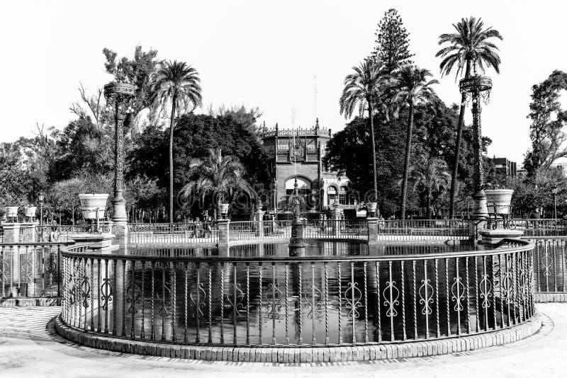 Maria Luisa park w Seville zdjęcia royalty free