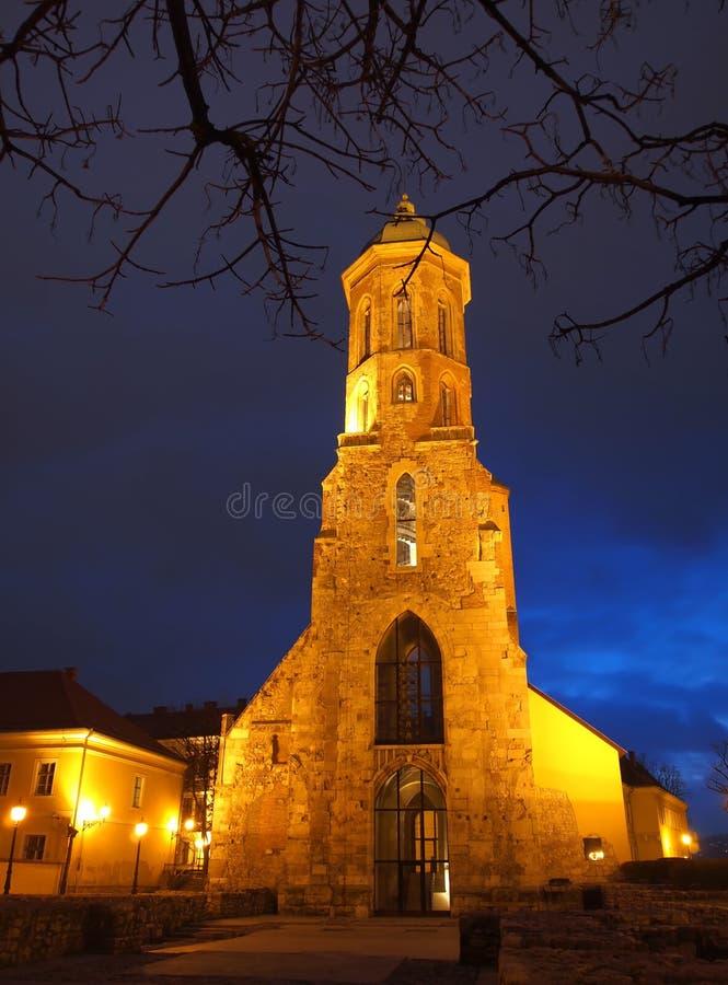 Maria Magdolna church royalty free stock images
