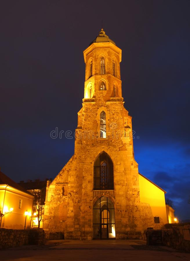 Maria Magdolna church stock photography