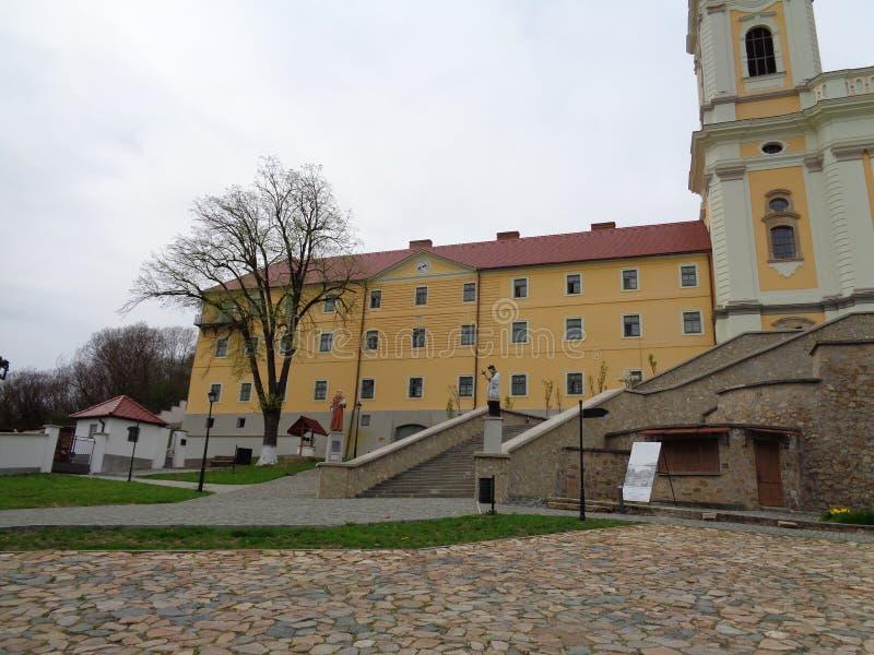 Maria Radna Franciscan Monastery - Rumania foto de archivo
