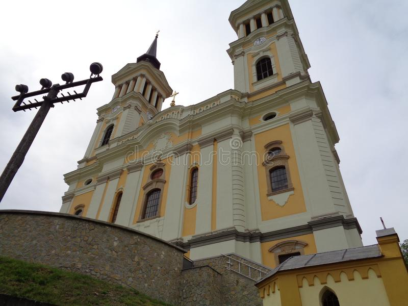 Maria Radna Franciscan Monastery - Rumania imagen de archivo libre de regalías