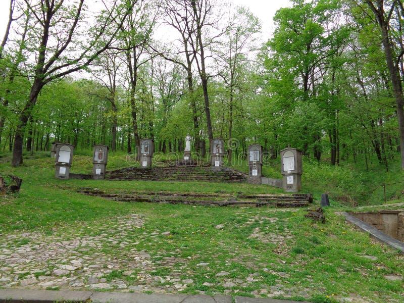 Maria Radna Franciscan Monastery - Rumania fotos de archivo