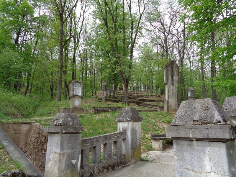 Maria Radna Franciscan Monastery - Rumania fotografía de archivo libre de regalías