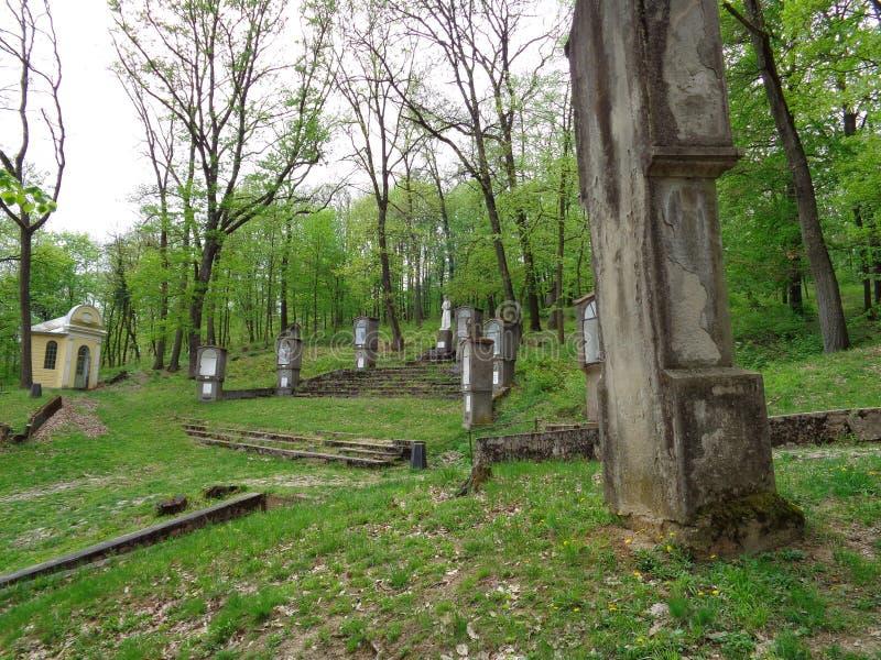 Maria Radna Franciscan Monastery - Rumania foto de archivo libre de regalías