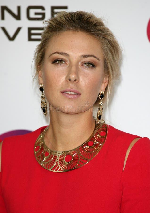Maria Sharapova imagem de stock