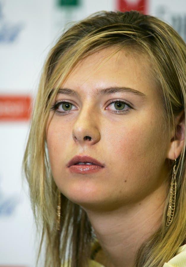 Maria Sharapova lizenzfreie stockfotografie