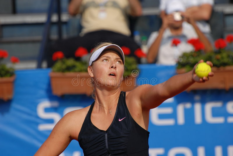 Maria Sharapova stock afbeelding