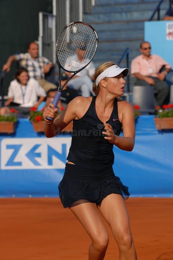 Maria Sharapova immagini stock libere da diritti